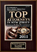 New Jersey Magazine Top Attorneys 2011