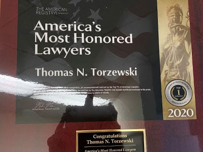America's Most Honored Lawyers 2020