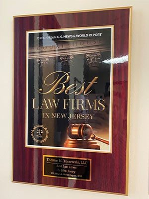 U.S. News And World Report - Best Law firm In New Jersey 2018